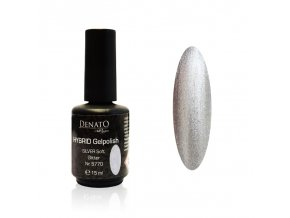 5770 Hybrid Gelpolish silver soft glitter stříbrný glitrový uv led gel, 15 ml
