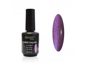 5782 Hybrid Gelpolish Charmed soft glitter fialový uv led gel, 15 ml