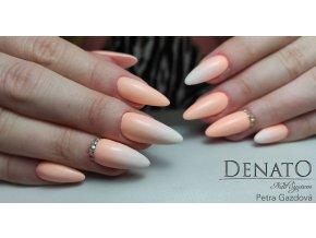 2152 Pastel Orange barevný uv led gel pastelová oranžová