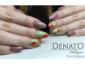 23056 Basic 56 barevný uv led gel dark nude