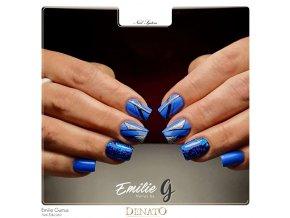 2050 Navy Blue barevný uv led gel modrý