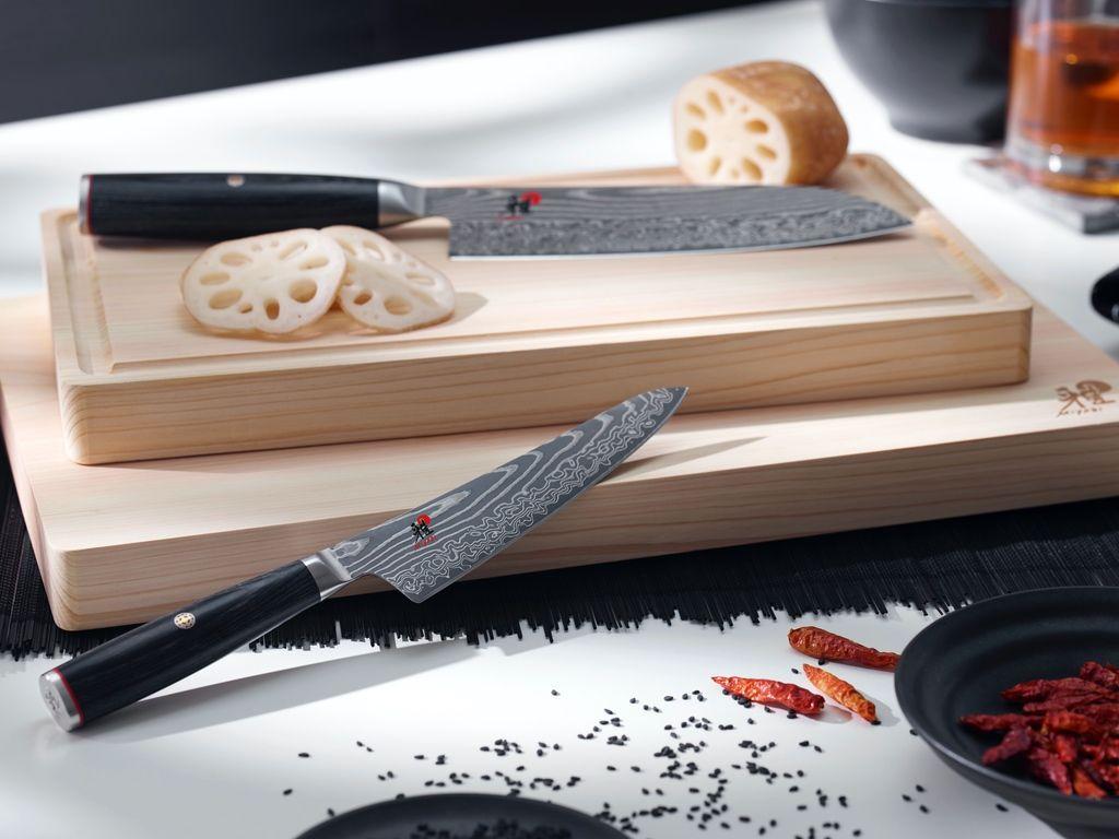 Rozdíl mezi japonským a německým nožem
