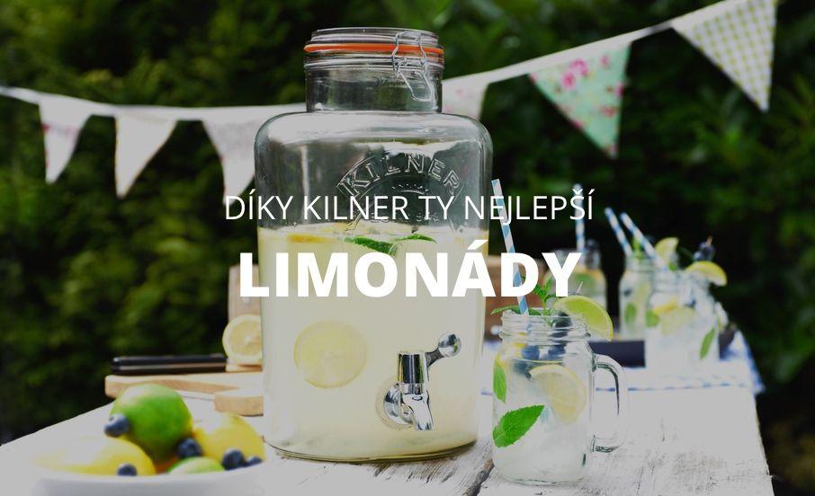Limonády Kilner