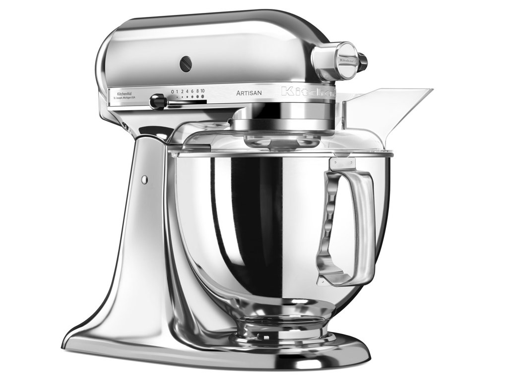 artisan robot 300 w 5ksm150 chrom kitchenaid denis henry. Black Bedroom Furniture Sets. Home Design Ideas