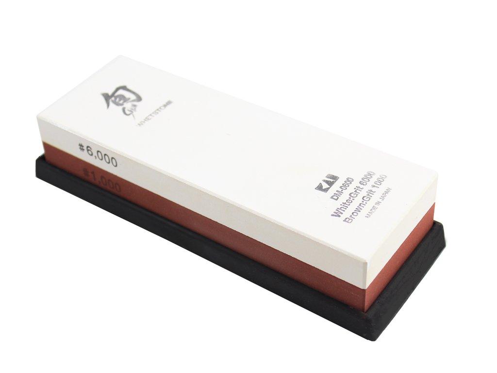 Brusný kámen na nože Shun, hrubost 1000/6000, Kai