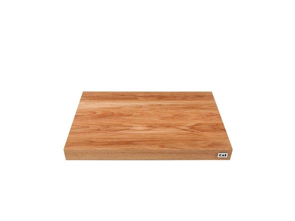 Prkénko na krájení 39 x 26 x 3,6 cm, dub, Kai