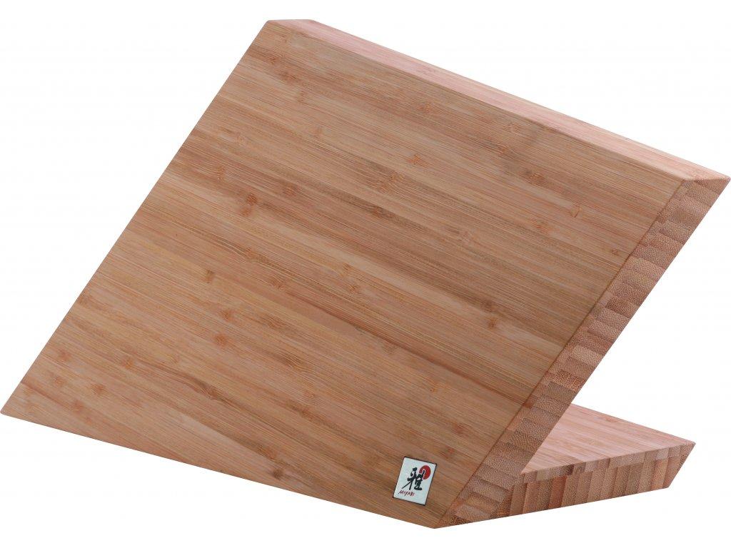 Miyabi by Zwilling Magnetický blok na nože na 6 ks, bambus, Zwilling Miyabi