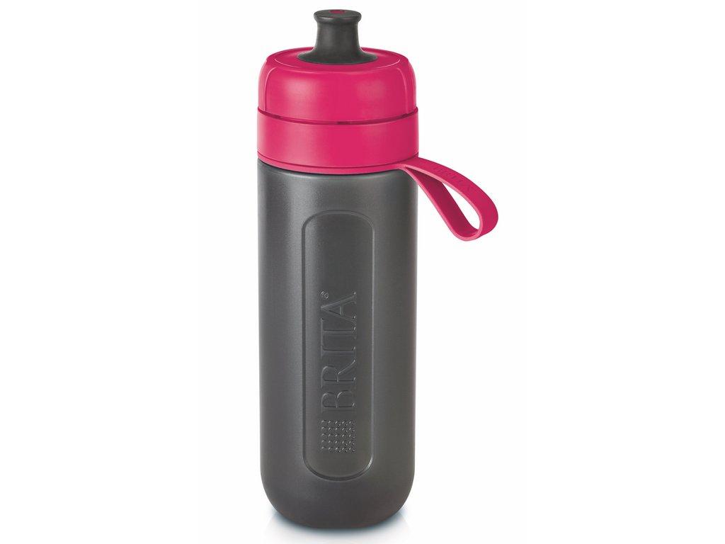 Filtrační láhev Brita Fill & Go Active 0,6 l růžová