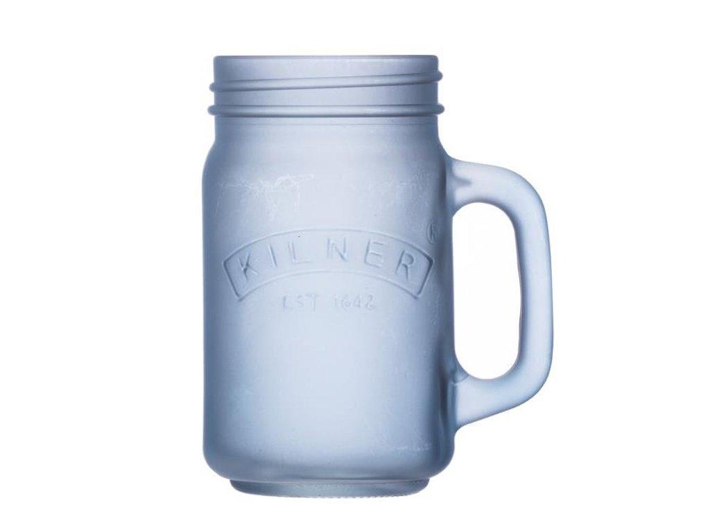 Džbánek s rukojetí modrý 0,4 l, Kilner