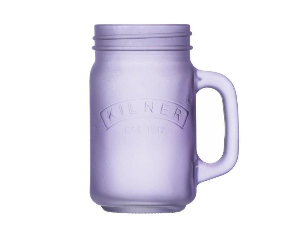 Džbánek s rukojetí fialový 0,4 l, Kilner