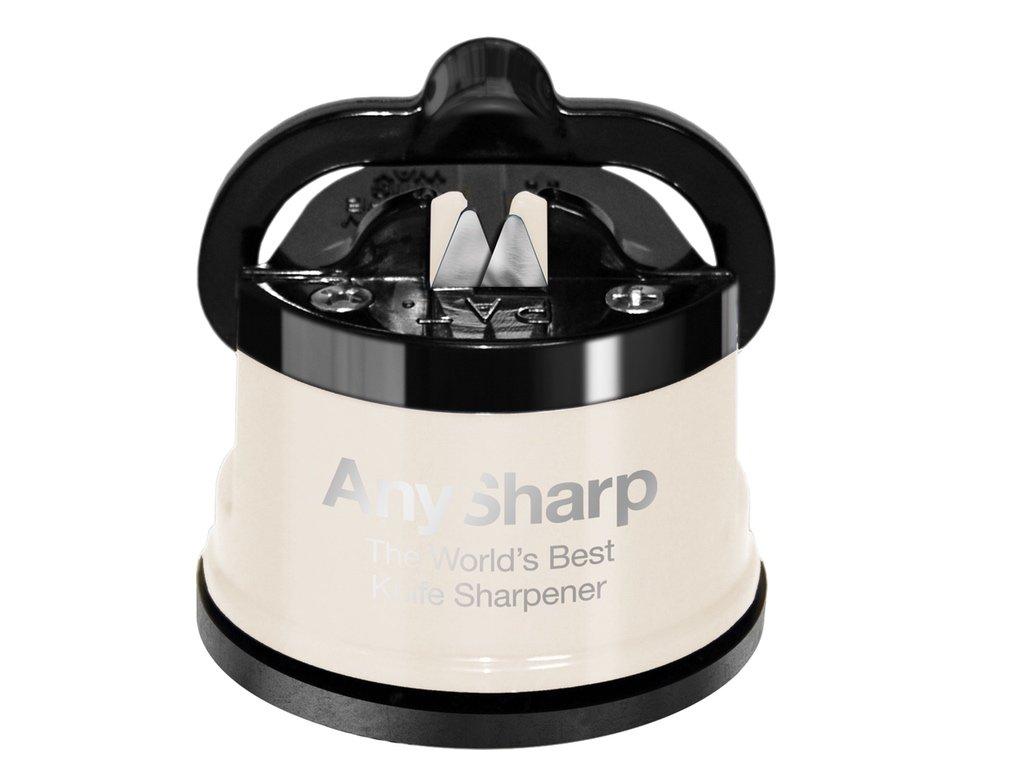 Brousek na nože AnySharp Pro, krémový