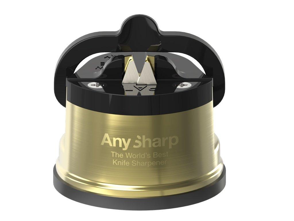 Brousek na nože AnySharp Pro, mosazný