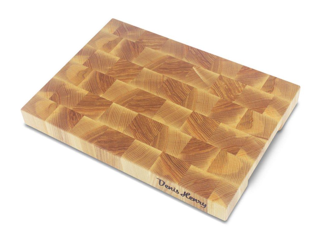 Dřevěné špalíkové prkénko jasan 35 x 25 x 3,5 cm