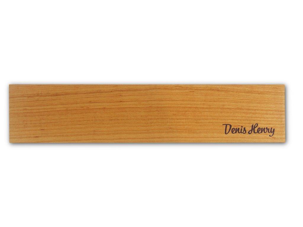 Magnetická lišta na nože 40 cm třešeň