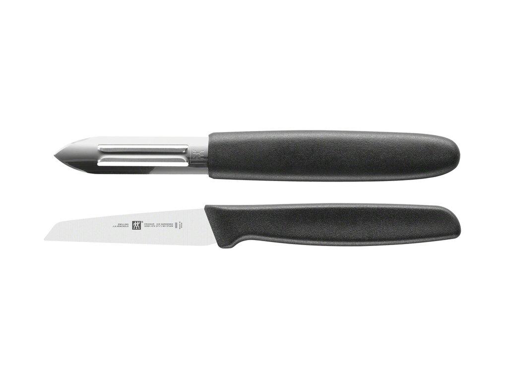 Nůž na zeleninu 7 cm Twin Grip + škrabka, Zwilling