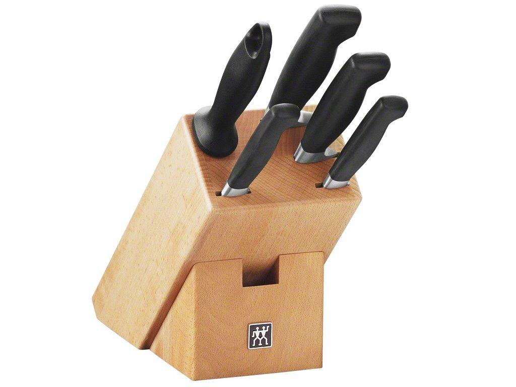 Sada nožů 5 ks v bloku Four star, Zwilling