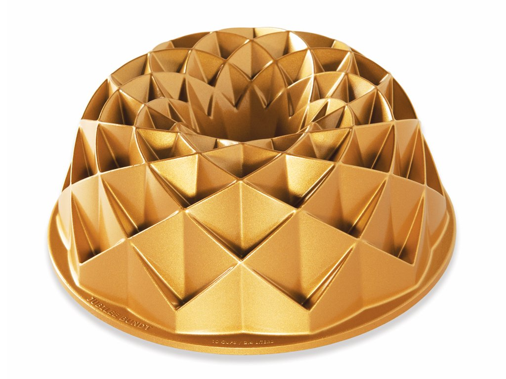 Forma na bábovku Jubilee zlatá 2,4 l, Nordic Ware