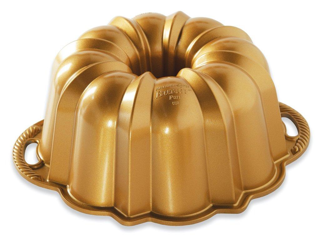 Forma na bábovku Anniversary zlatá 2,8 l ,Nordic Ware