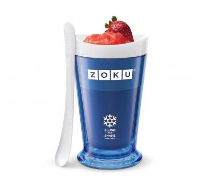 Výrobník ledové tříště Slush & Shake modrá, Zoku