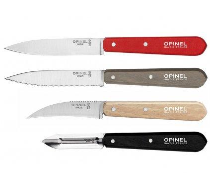 Set nožů 4 ks Les Essentiels Loft, Opinel