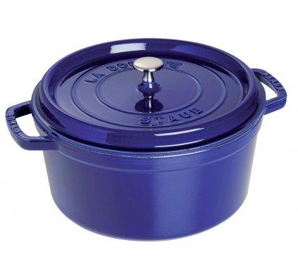Litinový hrnec 28 cm modrý, Staub
