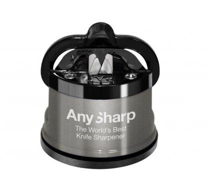Brousek na nože AnySharp Pro, šedý