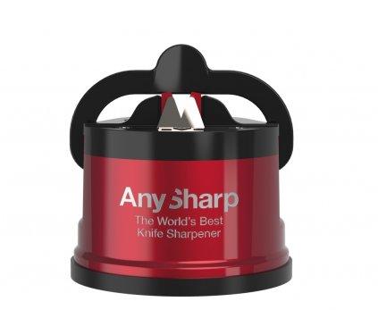 Brousek na nože AnySharp Pro, červený