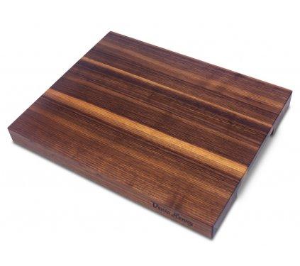 Dřevěné prkénko americký ořech 43 x 34 x 4 cm