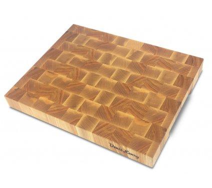 Dřevěné špalíkové prkénko jasan 43 x 34 x 4,5 cm