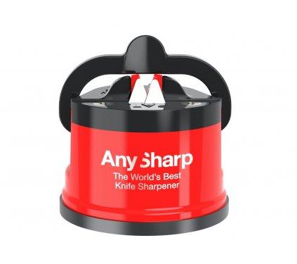 brousek na nože Anysharp editions červený