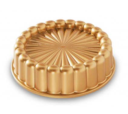nejlepsi Forma na dort Charlotte zlatá 1,4 l, Nordic Ware