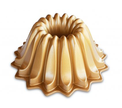 Forma na bábovku Lotus zlatá 1,18 l, Nordic Ware