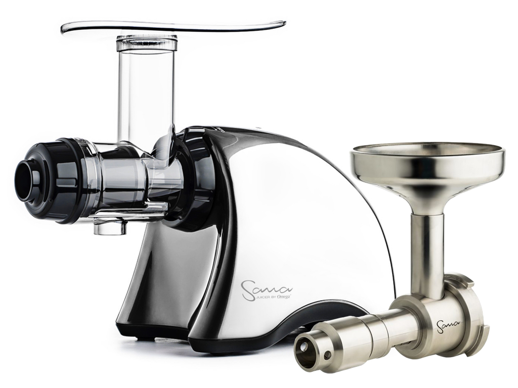 Odšťavňovač Sana Juicer EUJ-707 Plus by Omega chrom