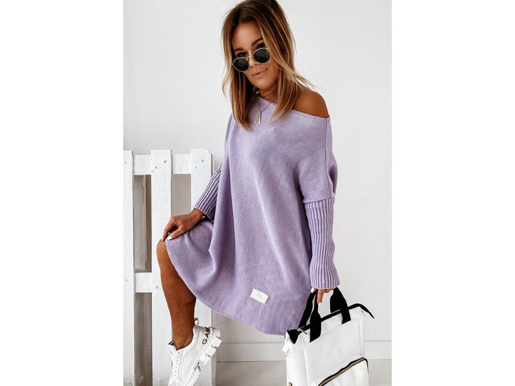 sweter california lilac