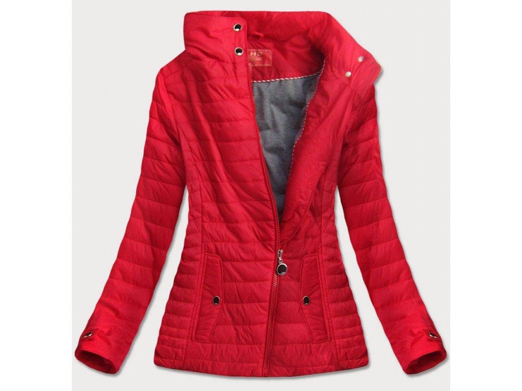 Dámská podzimní bunda LHD červená