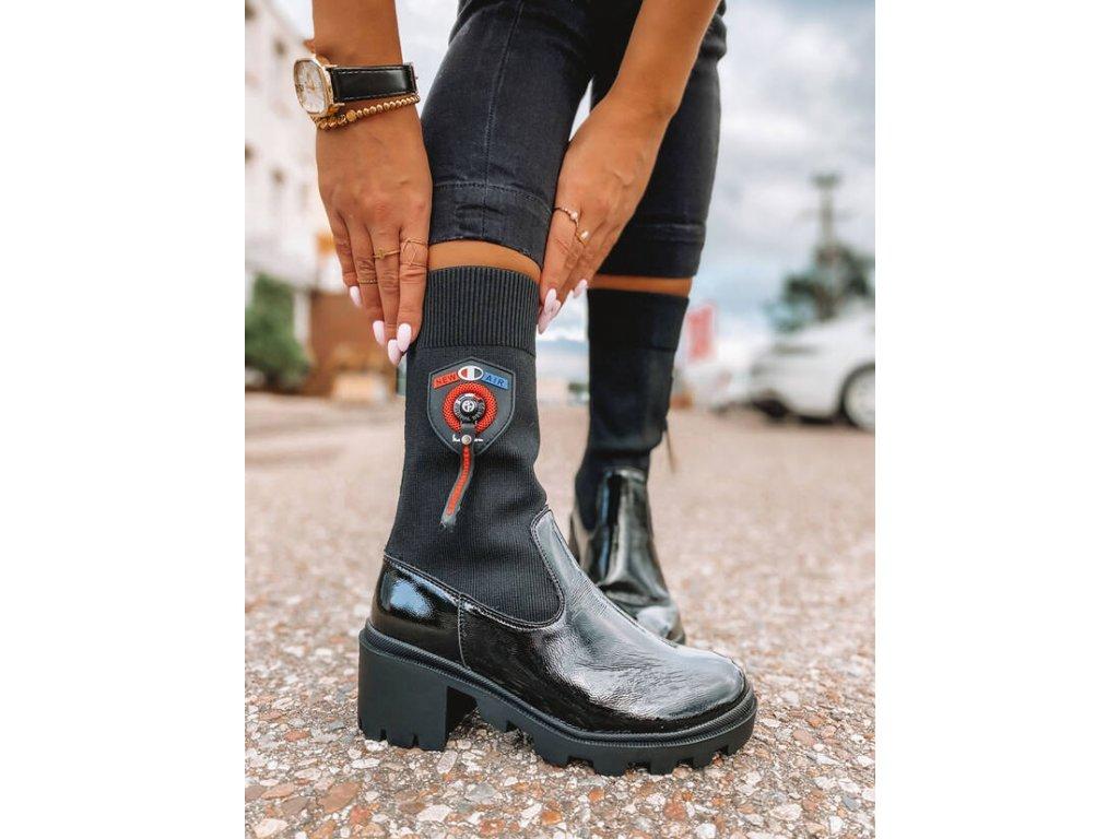 Dámská  obuv černá 356
