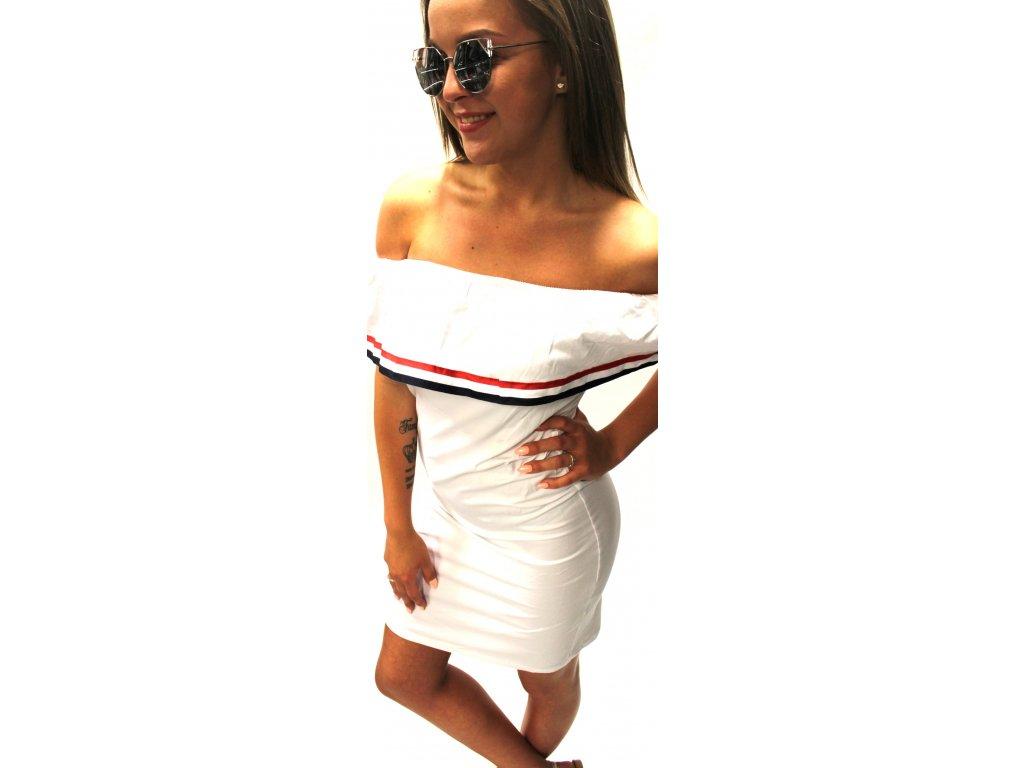 Dámské šaty TOM bílé