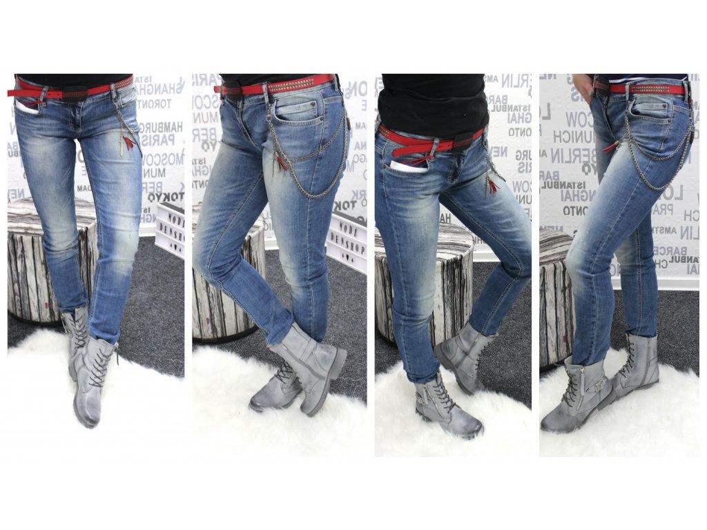 Dámské džíny EURO FASHION 9506
