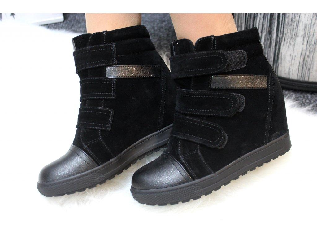 Dámská obuv na klínku MIAMO