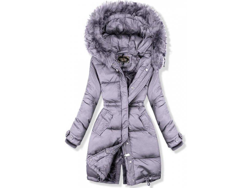 Dámská zimní bunda LADY šedá