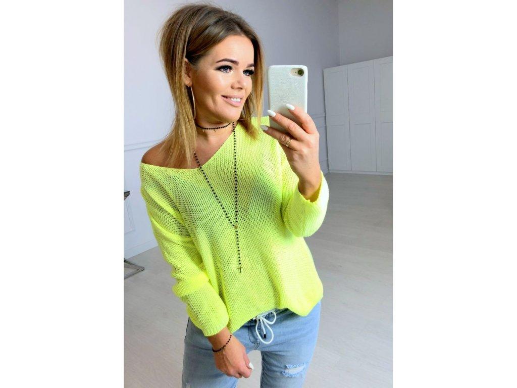 sweter tamaris lime