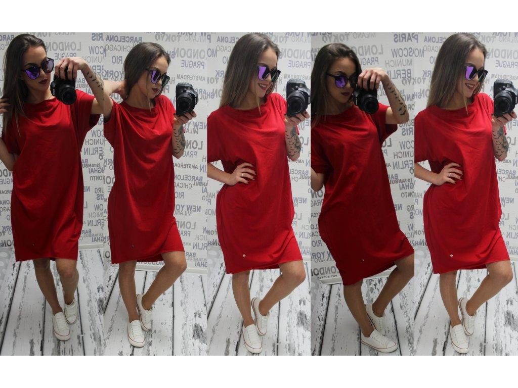 Dámské šaty 815 červené