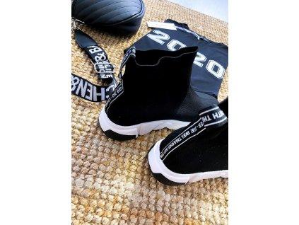 Dámská kotniková obuv černá