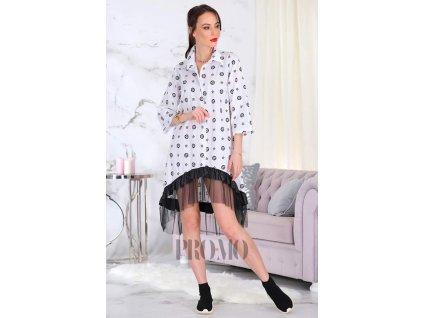 Dámské šaty LEONA bílé