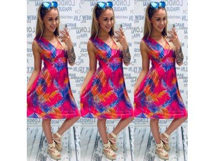 Dámské šaty růžové