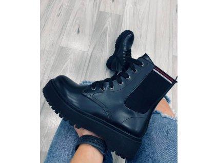 Dámská obuv černá 14725