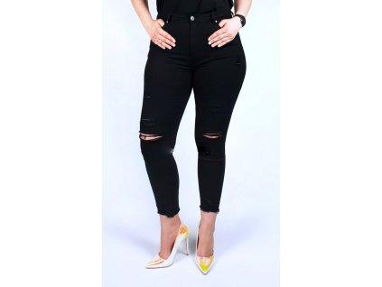 Dámské kalhoty větší velikosti 40-50