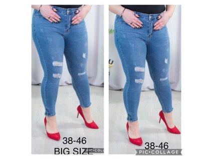 Dámské džíny větší velikosti S5881