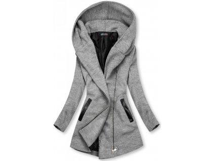 Dámský kabát šedý ORA