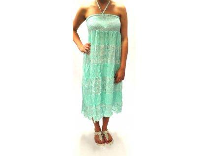 Dámské dlouhé šaty MIA mint